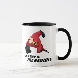 Mr. Incredible - My Dad is Incredible Ringer Mug