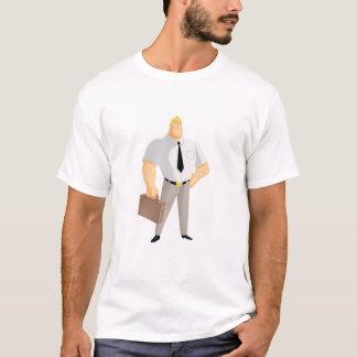 Mr. Incredible plain clothes civilian briefcase T-Shirt