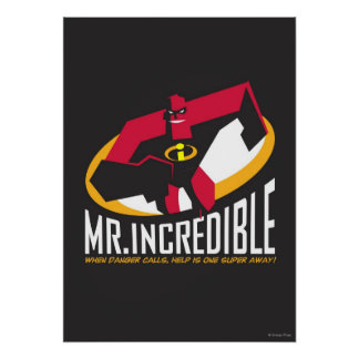 Mr. Incredible Poster
