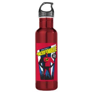 Mr Incredible Poster Art Disney 710 Ml Water Bottle