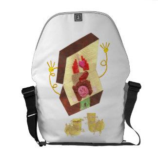 Mr Inside Out Man Rucksack Messenger Bag