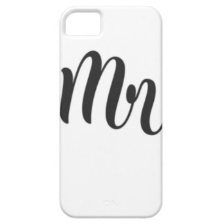 Mr iPhone 5 Cover