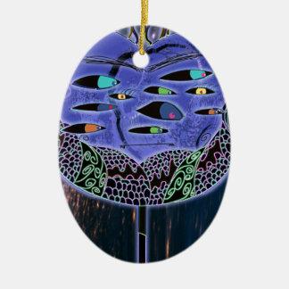 Mr Jacobs Ceramic Oval Ornament