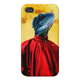 Mr. Jacobson - Iguana: Case For iPhone 4