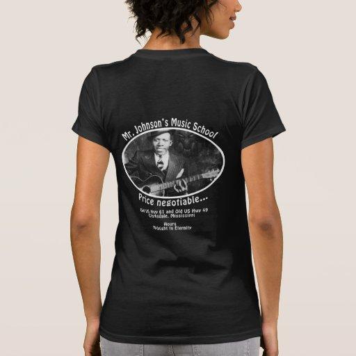 Mr. Johnson's Music School Tee Shirt