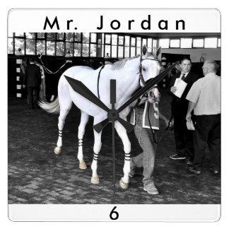 Mr. Jordan Square Wall Clock
