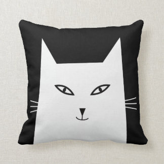Mr.Katz series- Sheila. Customize-able background Throw Pillow