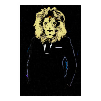 Mr. Lionheart Success Pop Art Poster