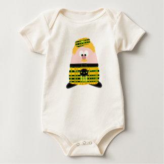 Mr Mac Haggis Baby Bodysuit