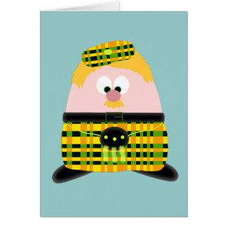 Mr Mac Haggis Card
