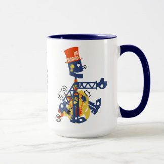 Mr Machine Vintage Toy Mug
