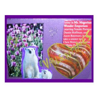 Mr. Magoo's Valentine's Day Collage Postcard