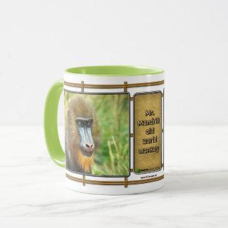 Mr. Mandrill Old World Monkey Coffee Mug