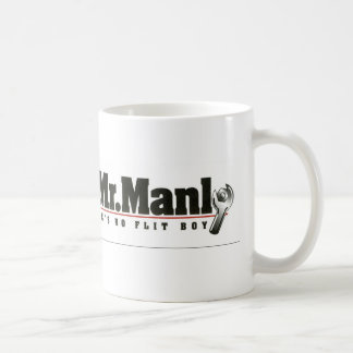 Mr. Manly Coffee Mug