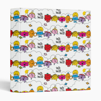 Mr Men & Little Miss | All In A Row 3 Ring Binder