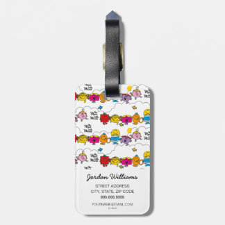 Mr Men & Little Miss | All In A Row Luggage Tag
