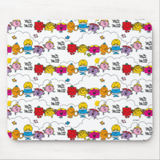 Mr Men & Little Miss | All In A Row Mouse Pad