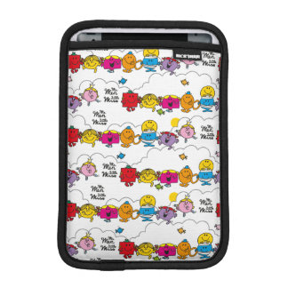 Mr Men & Little Miss | All In A Row Sleeve For iPad Mini