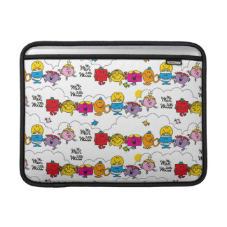 Mr Men & Little Miss | All In A Row Sleeve For MacBook Air