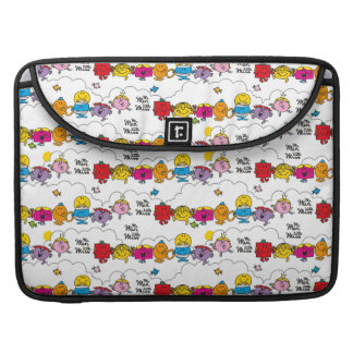 Mr Men & Little Miss | All In A Row Sleeve For MacBooks