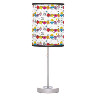Mr Men & Little Miss | All In A Row Table Lamp