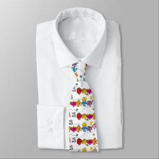 Mr Men & Little Miss | All In A Row Tie