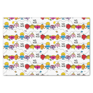 Mr Men & Little Miss | All In A Row Tissue Paper
