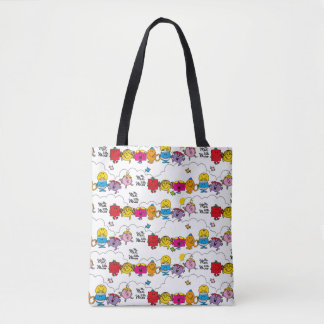 Mr Men & Little Miss | All In A Row Tote Bag