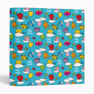 Mr Men & Little Miss | Birds & Balloons In The Sky 3 Ring Binder