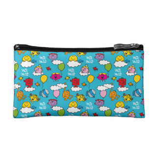 Mr Men & Little Miss | Birds & Balloons In The Sky Cosmetic Bag