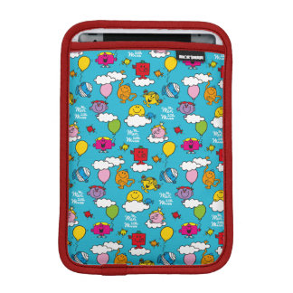 Mr Men & Little Miss | Birds & Balloons In The Sky iPad Mini Sleeve