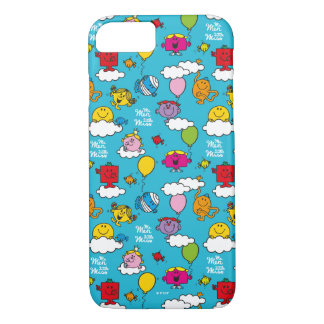 Mr Men & Little Miss   Birds & Balloons In The Sky iPhone 8/7 Case