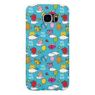 Mr Men & Little Miss | Birds & Balloons In The Sky Samsung Galaxy S6 Cases