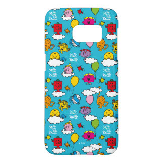 Mr Men & Little Miss | Birds & Balloons In The Sky Samsung Galaxy S7 Case