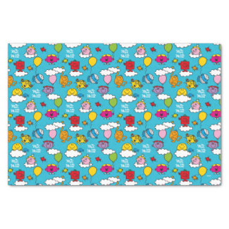 Mr Men & Little Miss | Birds & Balloons In The Sky Tissue Paper