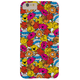 Mr Men & Little Miss | Bright Smiling Faces Barely There iPhone 6 Plus Case