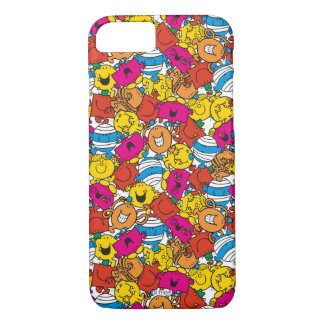 Mr Men & Little Miss | Bright Smiling Faces iPhone 8/7 Case