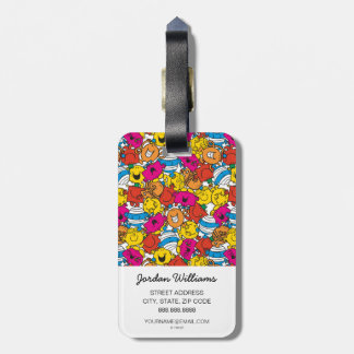 Mr Men & Little Miss | Bright Smiling Faces Luggage Tag