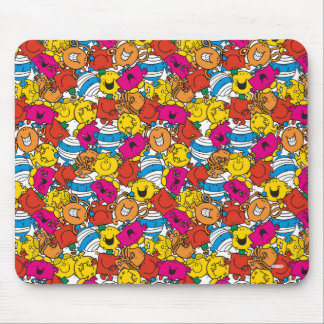 Mr Men & Little Miss | Bright Smiling Faces Mouse Pad