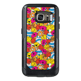 Mr Men & Little Miss | Bright Smiling Faces OtterBox Samsung Galaxy S7 Case