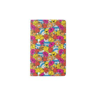 Mr Men & Little Miss | Bright Smiling Faces Pocket Moleskine Notebook