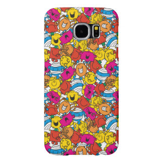 Mr Men & Little Miss | Bright Smiling Faces Samsung Galaxy S6 Case