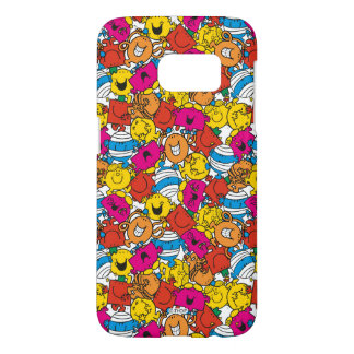 Mr Men & Little Miss | Bright Smiling Faces Samsung Galaxy S7 Case