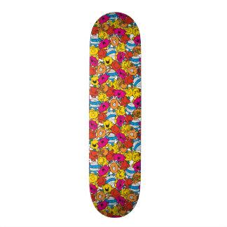 Mr Men & Little Miss | Bright Smiling Faces Skate Board Deck