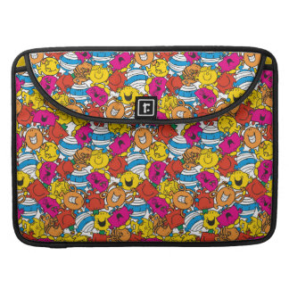 Mr Men & Little Miss | Bright Smiling Faces Sleeve For MacBook Pro