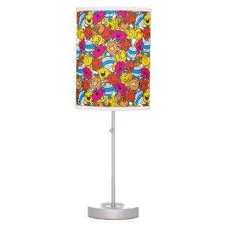 Mr Men & Little Miss | Bright Smiling Faces Table Lamp
