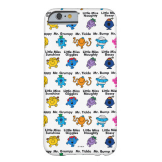 Mr Men & Little Miss | Character Names Barely There iPhone 6 Case