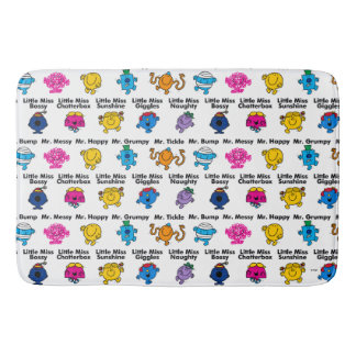 Mr Men & Little Miss | Character Names Bath Mat