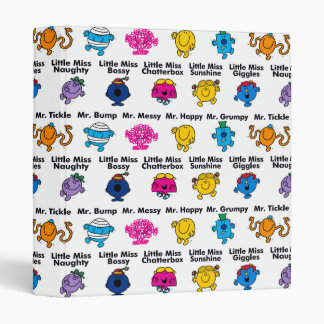Mr Men & Little Miss | Character Names Binder