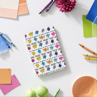 Mr Men & Little Miss | Character Names iPad Mini Cover